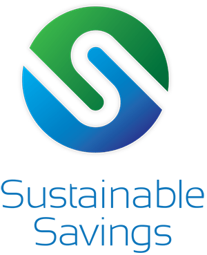 Sustainable Savings Logo Vertical
